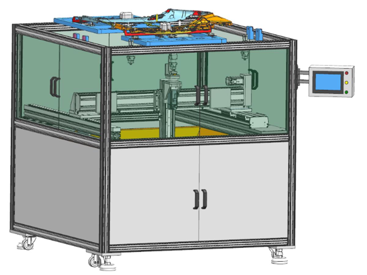 大型全自動切水口機