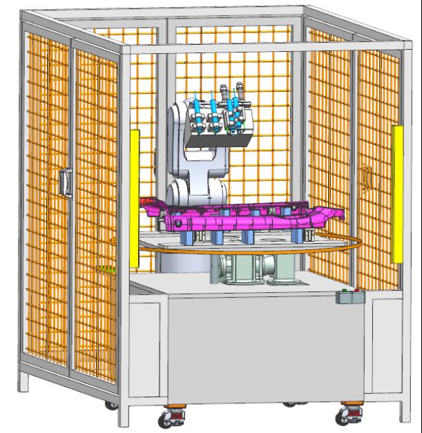 機器人自動鑽孔設備